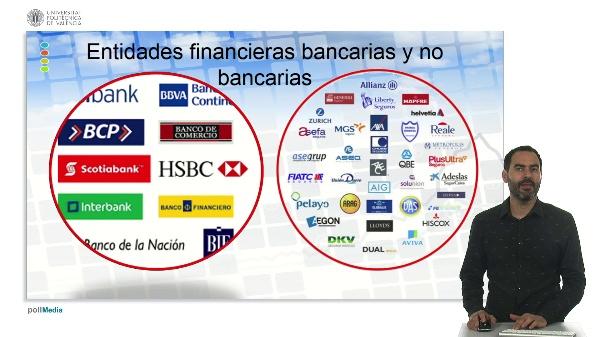 U.1. El sistema financiero. 5 Intermediarios financieros. 5.2. Clasificación.