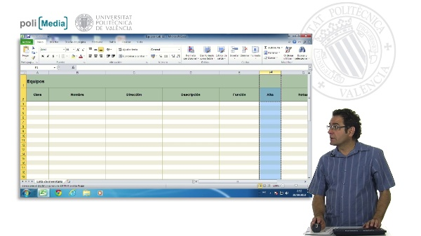 Modificar un archivo de plantilla Excel