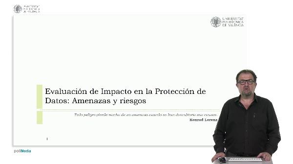 Evaluación de impacto en la protección de datos: amenazas y riesgos
