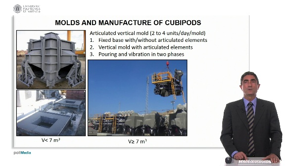 Molds and manufacture of cubipods (4)