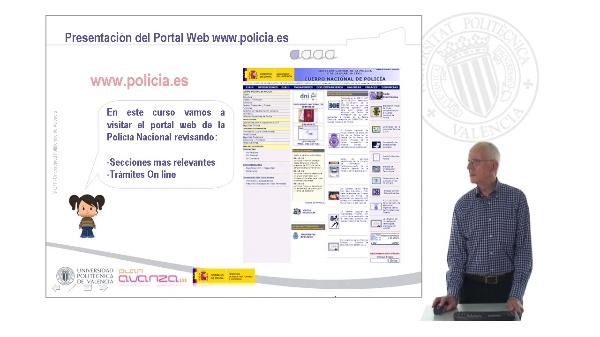 La Policía Nacional en Internet