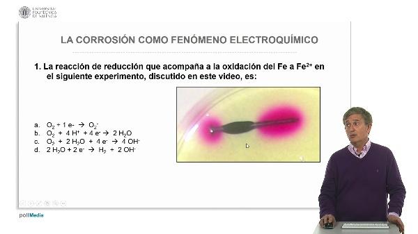 La corrosión como fenómeno electroquímico. Ejercicios prácticos