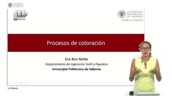 Procesos de coloración