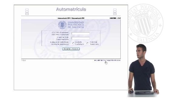 Presentación Multimedia de la aplicación (castellano)