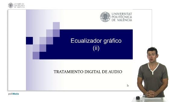 Ecualizador gráfico II