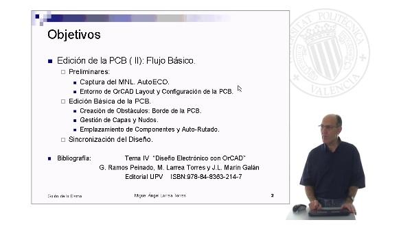 Prontuario de OrCAD. Layout: Edición de la PCB (  II)