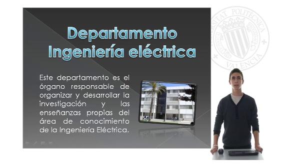 Praktikum 2010 - Líneas de investigación del departamento de Ingeniería Eléctrica