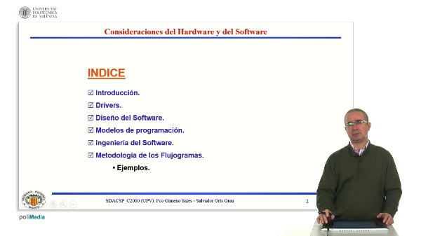 Consideraciones Hardware Software