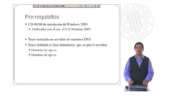Instalación y Configuración de un servidor de correo en Windows 2003