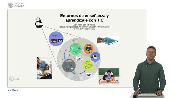 Entornos de enseñanza y aprendizaje con TIC