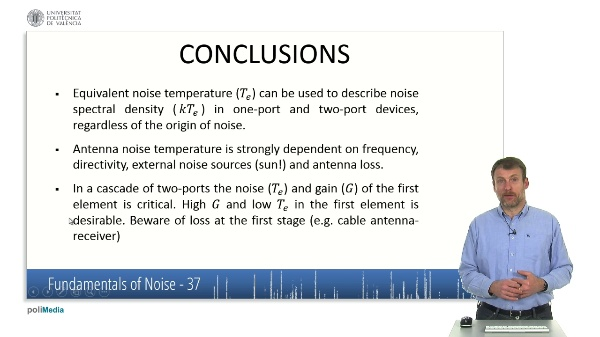 Caracteristicas fundamentales del ruido XI