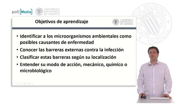 Barreras físicas contra la infección