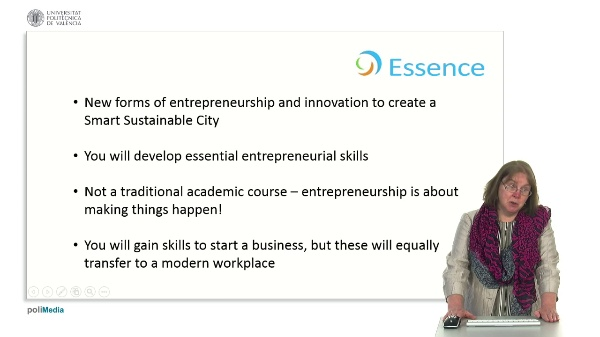 Essence. European Sustaniable Solutions for Existing and New City Environments. Presenter 4