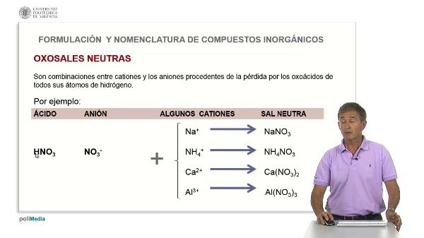 3.7. Oxosales neutras