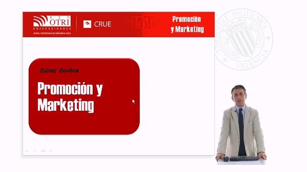 Presentación curso online promoción y marketing