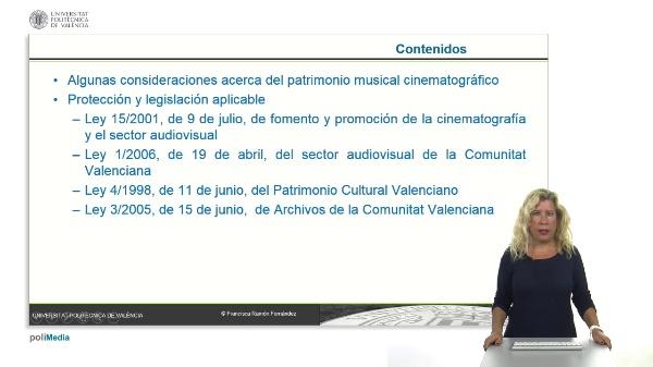 La protección del patrimonio musical cinematografico