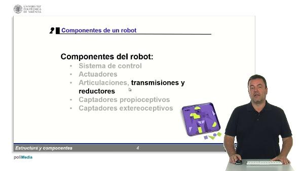 Robotica: componentes - Trasmision de movimientos y reductores