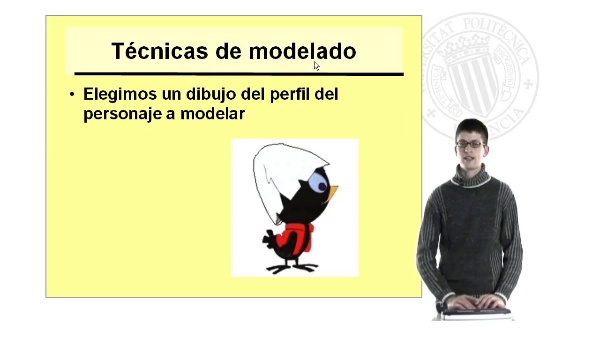 Modelado del Personaje: Parte I