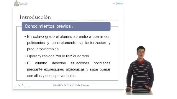 Resolución Ecuaciones Cuadraticas por Completación