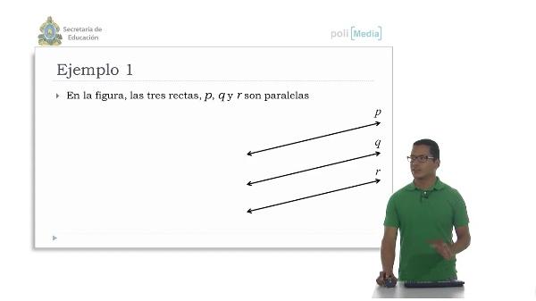 Relación entre Paralelas y Proporción. Demostraciones