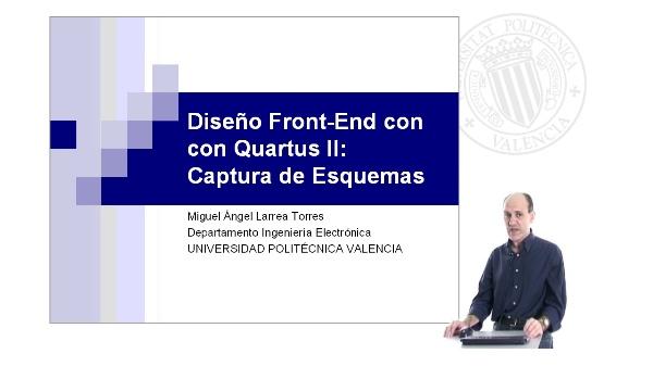 Diseño Front-End con Quartus II:Captura de Esquemas