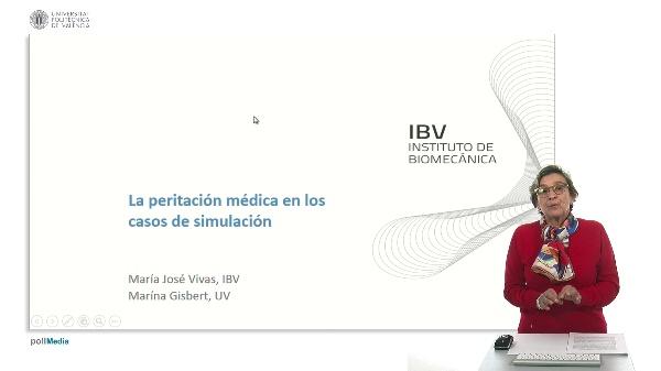 Peritación médica en los casos de simulación