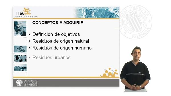 Tecnologias del Reciclado.Tema I. Residuos Urbanos e Industriales