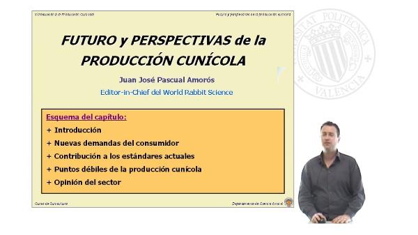 Futuros y perspectivas de la producción cunícola
