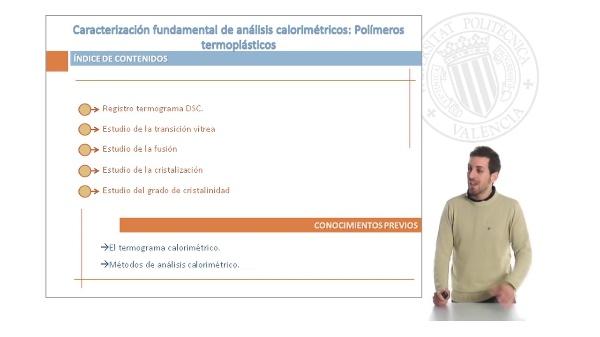 Caracterización Fundamental de Análisis Calorimétricos: Polímeros Termoplásticos