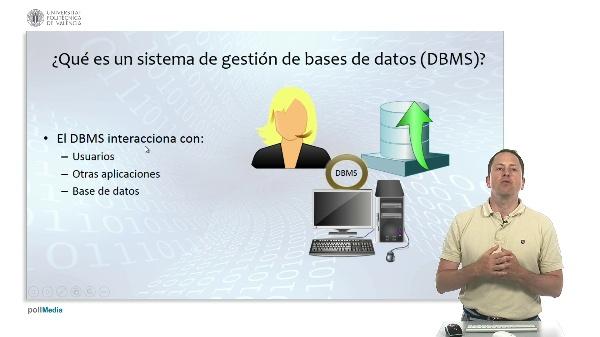 Bases de datos, propiedades y almacenamiento. Sistemas de gestión de bases de datos