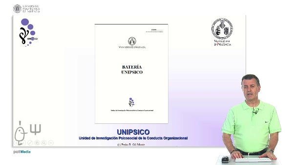 Batería UNIPSICO UPV