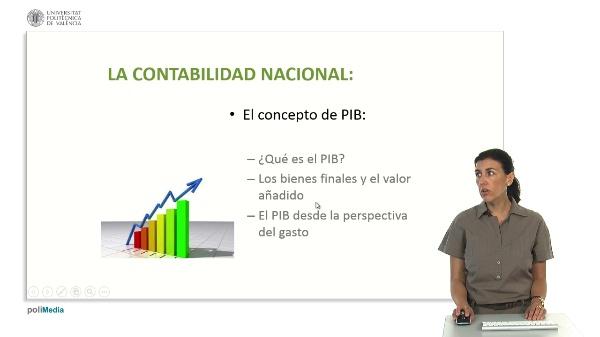 La contabilidad nacional: El concepto de PIB