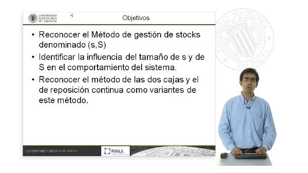 Gestión de stocks. Método (s,S)