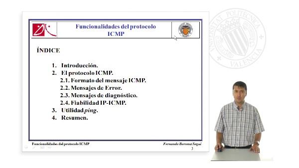 Funcionalidades del protocolo ICMP