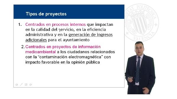 Proyectos de la Sección de Antenas para el Fondo de Inversión Local I