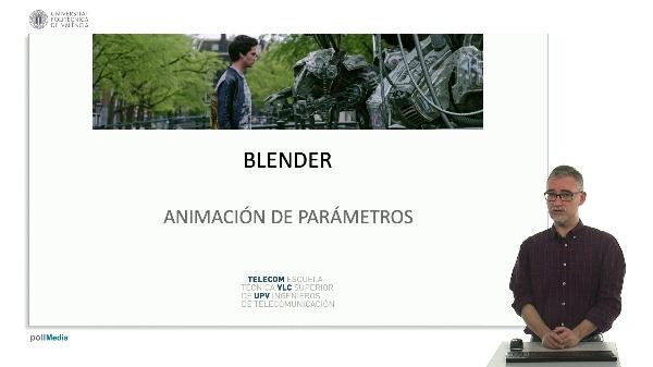 Blender: Animación de parámetros