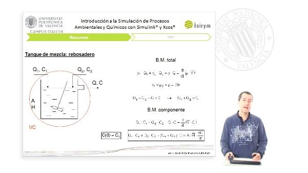 Resumen Unidad 4. Introducción a la Simulación de Procesos Ambientales y Químicos con Simulink¿ y Xcos¿