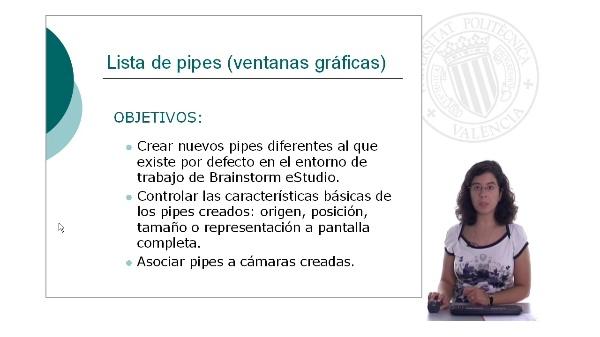 Lista de pipes (ventanas gráficas)