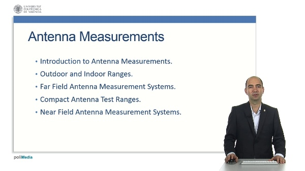 Antenna Measurement Unit. Presentation of the Unit