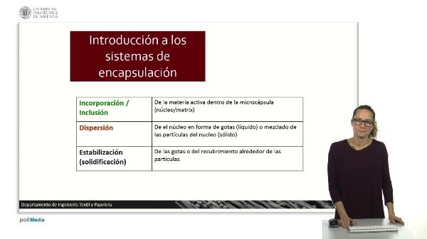 Introducción a los sistemas de encapsulación.