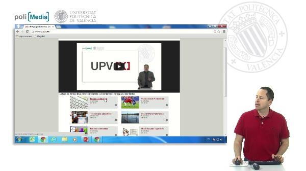 UPV[X] la plataforma MOOC de la UPV