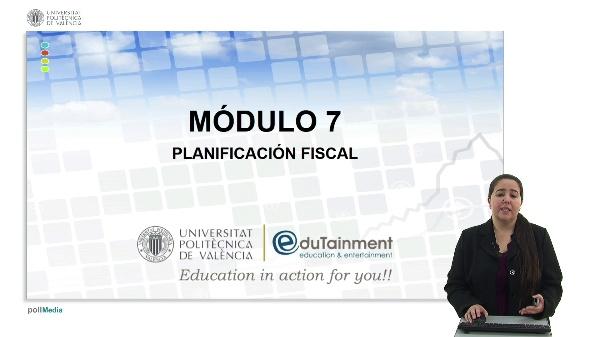 Objetivos competenciales Módulo Planificación Fiscal EIP