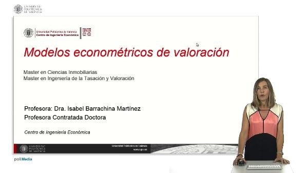 Modelos econométricos de valoración