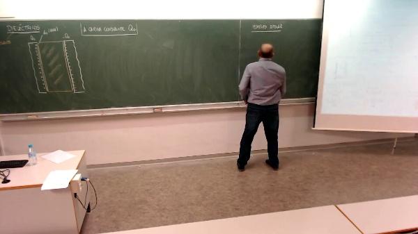 Física 1. Lección 7. Momento dipolar en dieléctricos