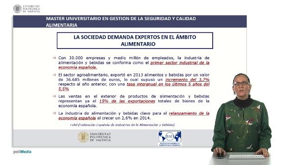 Máster Universitario en Gestión de la Calidad y Seguridad Alimentaria