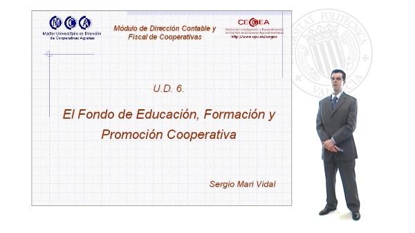 El Fondo de Educación,Formación y Promoción Cooperativa