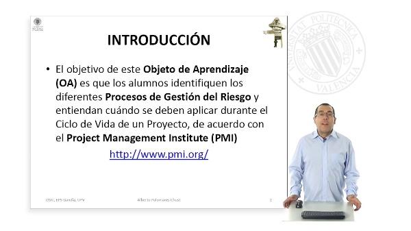 Procesos de gestion del riesgo.