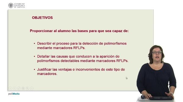 Marcadores de DNA basados en restriccion e hibridacion: RFLPs