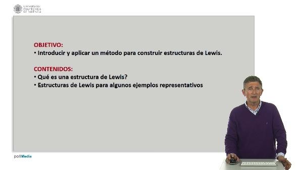 Construcción de estructura de Lewis