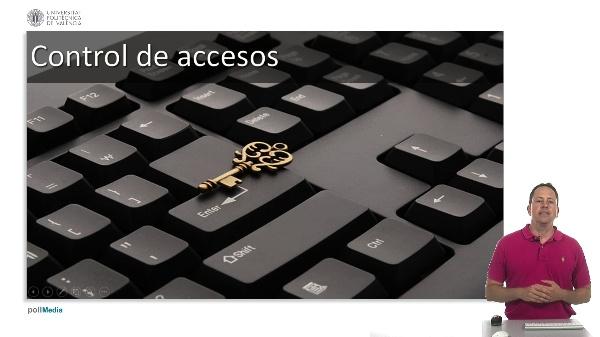 Medidas de seguridad informática. Control de accesos